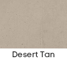 coloured concrete - desert tan colour